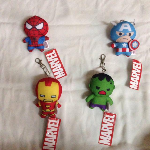 Gantungan Boneka Marvel