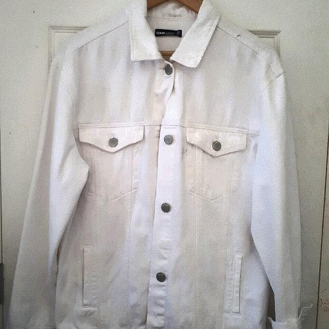 Glassons- Snow Denim Jacket oversized.