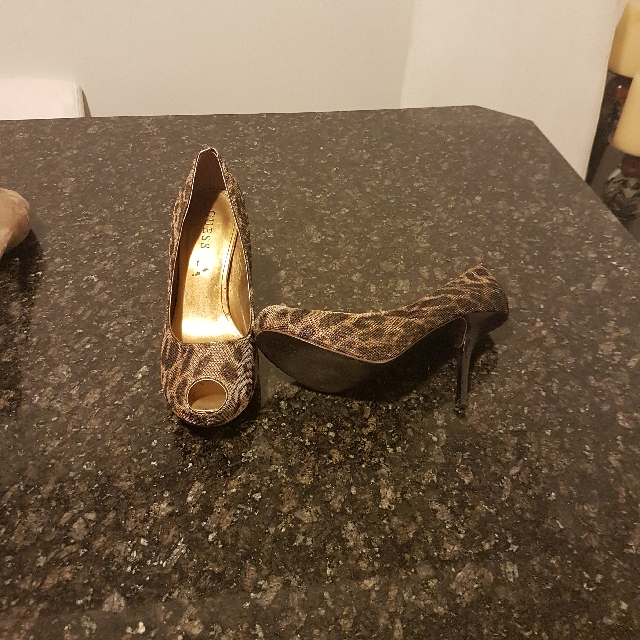 Guess Heels Used Twice