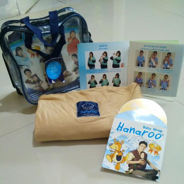 Hanaroo baby wrap