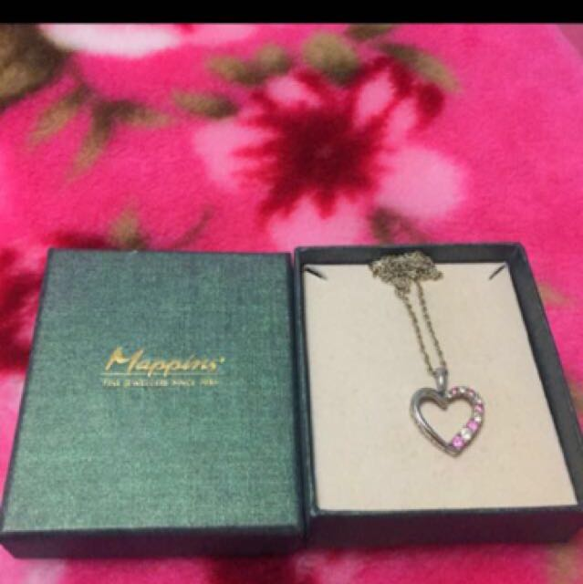 Real Silver Heart Necklace
