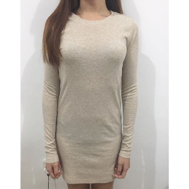 H&M Bodycon long sleeve dress