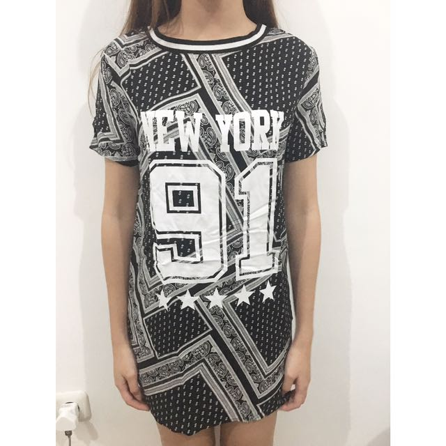 H&M New York T-shirt Dress