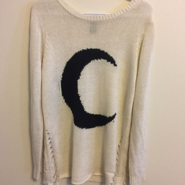 Hot Topic Moon Sweater