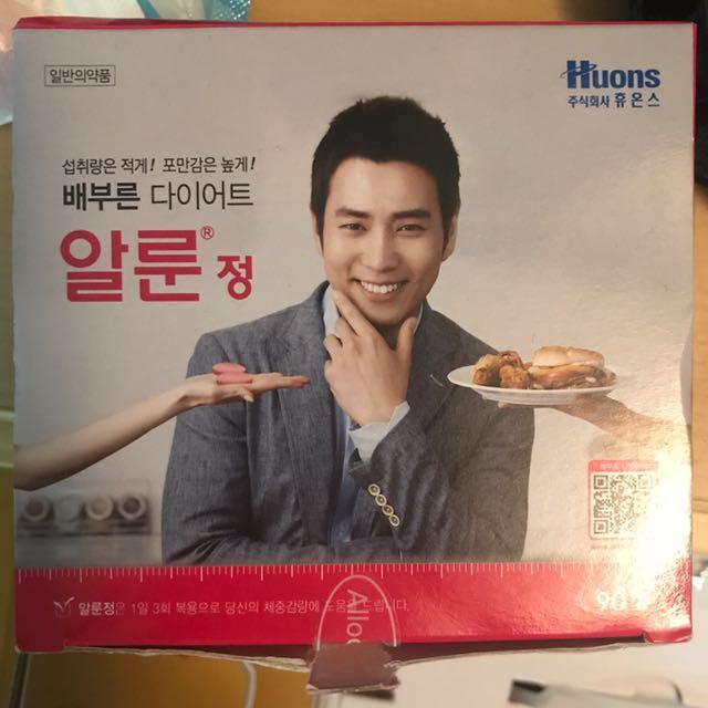 Huons allon tabs 韓國 飲食控制錠(1盒)