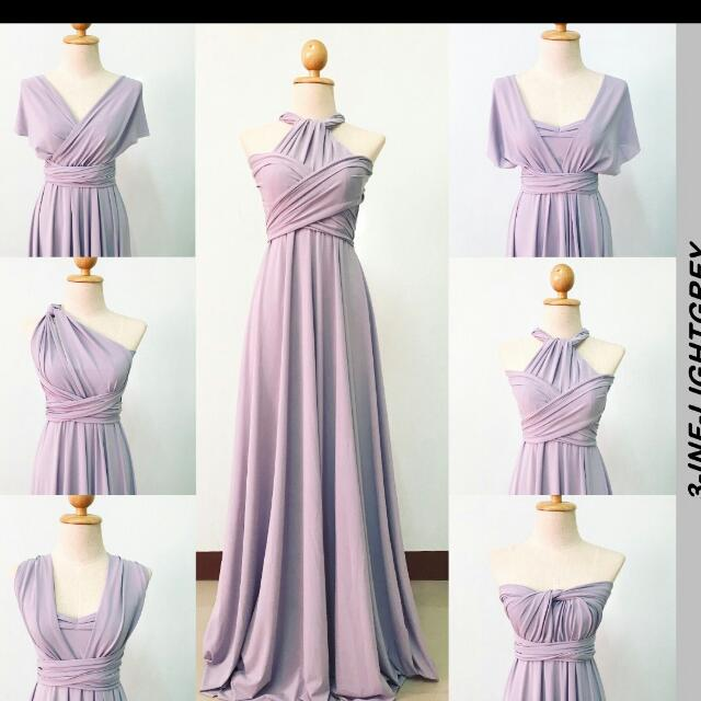 Infinity Long Dress Gown