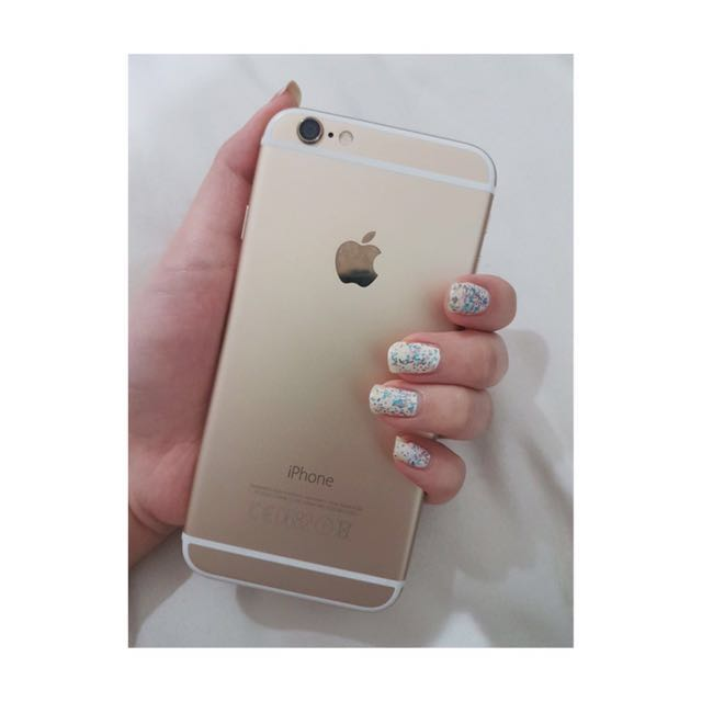 iPhone 6 Gold 128GB NO BARTER YA