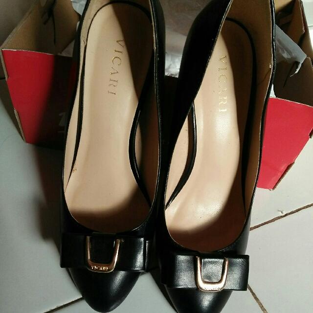 Jual Sepatu Heels Second Vicari Ori