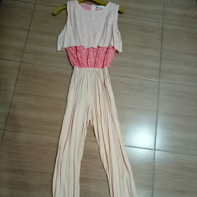 Jumpsuit Brokat Mix Katun
