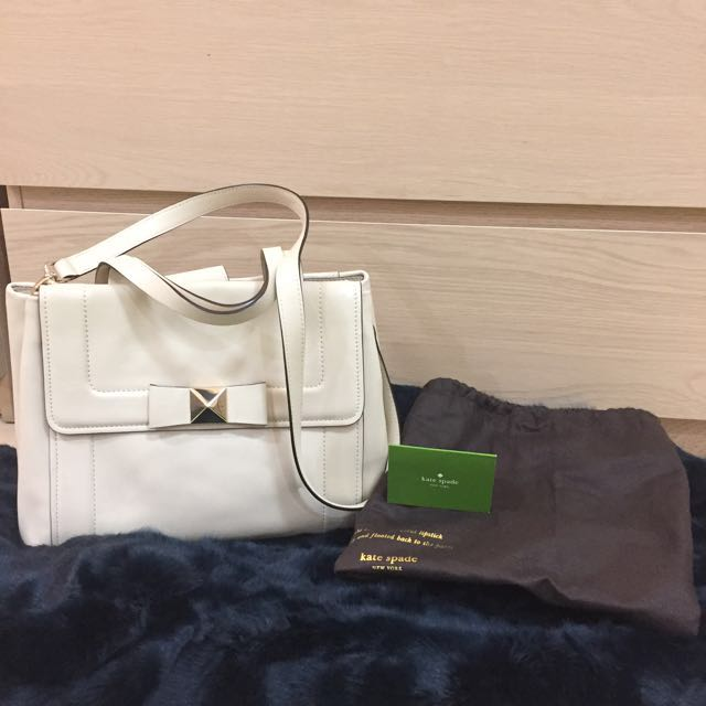 Kate Spade Cream Bag (Authentic)