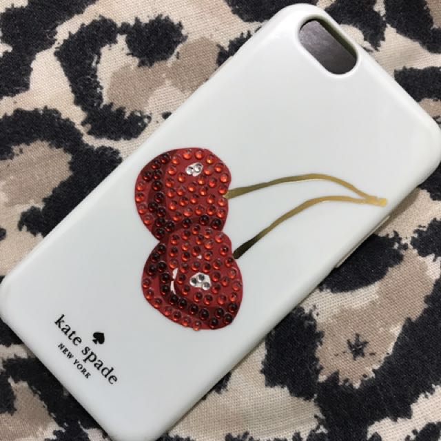 Kate Spade Embellished Cherries iPhone 6/6s Hybrid Hardshell Case New in the Box