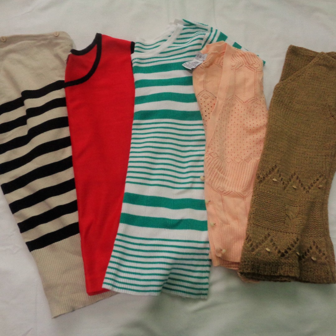 Knitted Tops Bundle