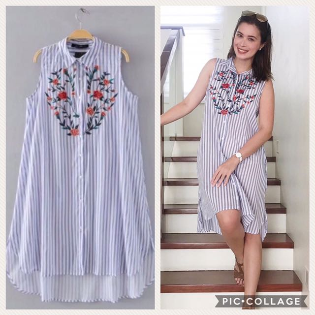korean embroidered dress