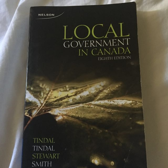 Local government of Canada