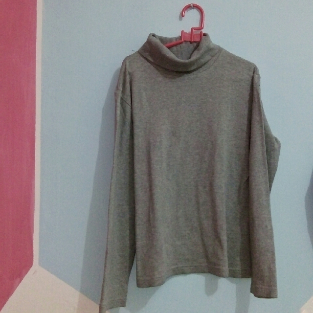 Long Sleeve Turtleneck Grey