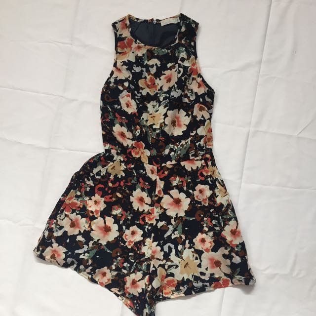 Love bonito floral jumpsuit