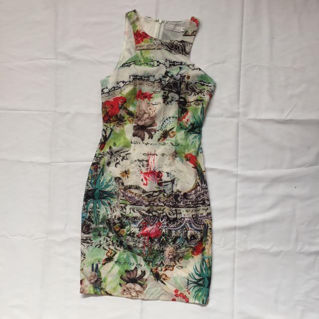 Love bonito printed dress