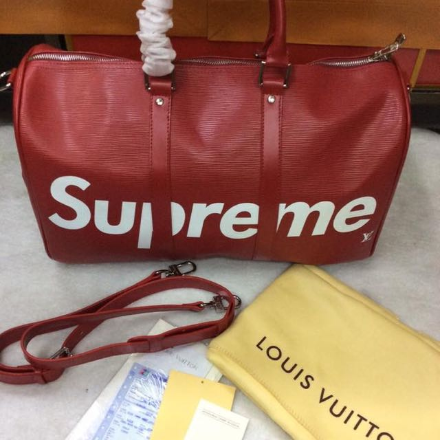 LV Supreme Travel Bag