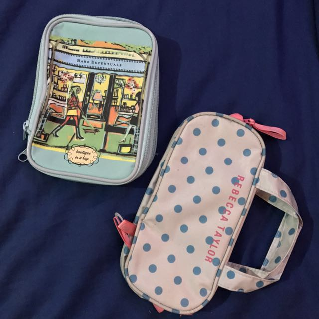 Makeup Bags With Brush Compartments