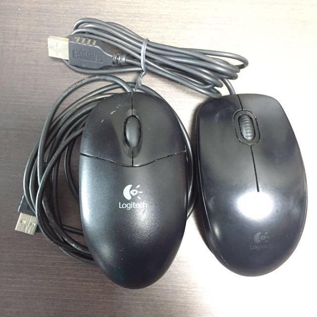Mouse Logitech Cable