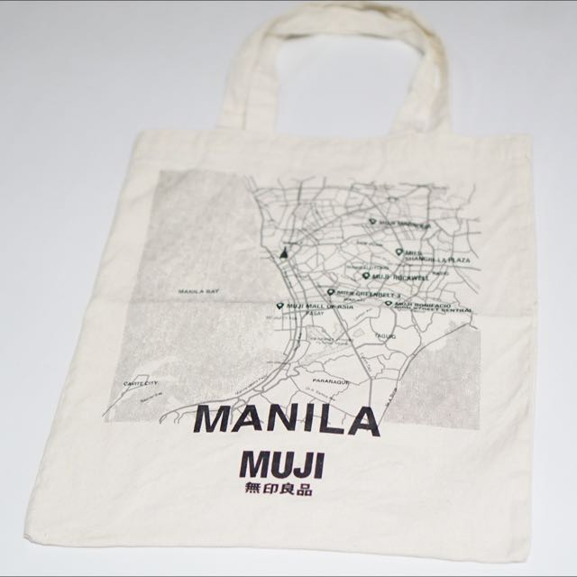 Muji x Manila Reusable Tote Bag