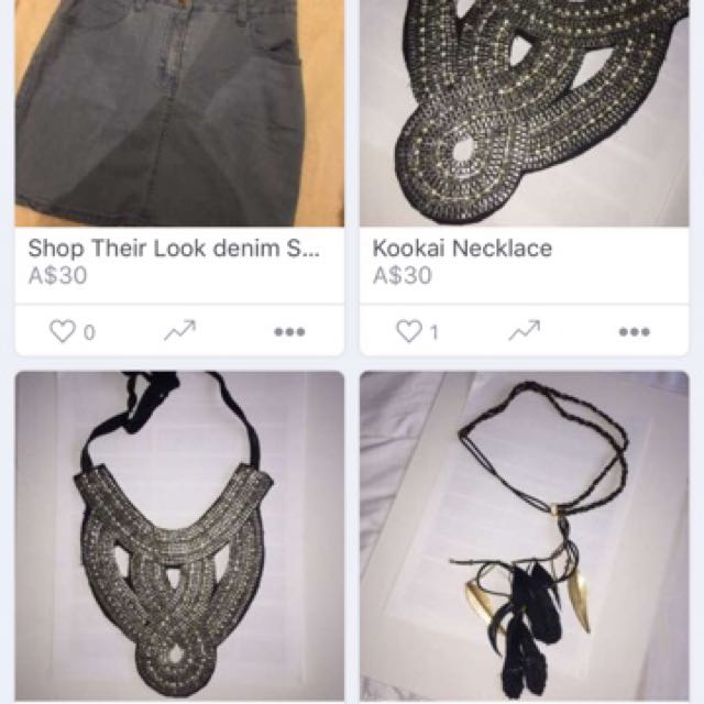 Necklaces For Sale!