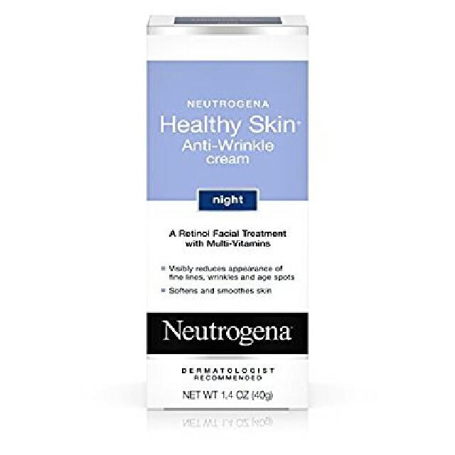 Neutrogena Healthy Skin Anti-Wrinkle Cream Night With Retinol, 1.4 Oz.