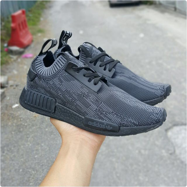 2b3de2242 NMD PITCH BLACK COPY ORI