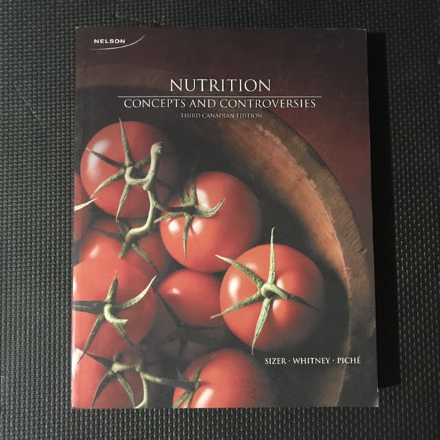Nutrition: Concepts and Controversies (3rd edition)
