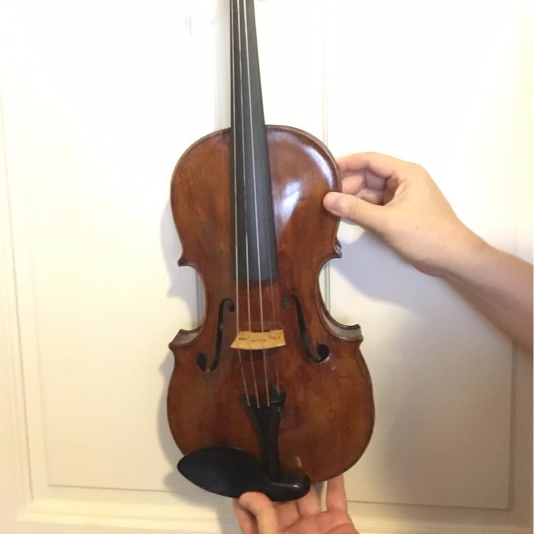 Old Violin labeled Filippus Brandilioni 1834, Music & Media