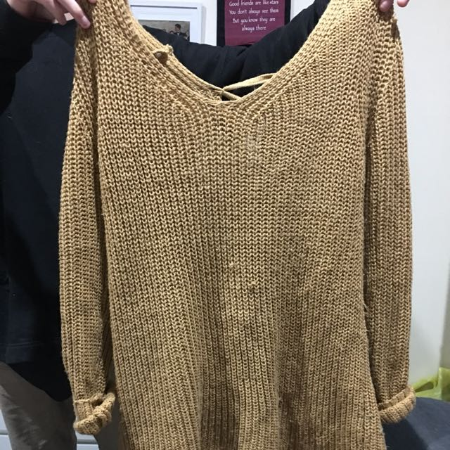 Oversized Woolen Jumper