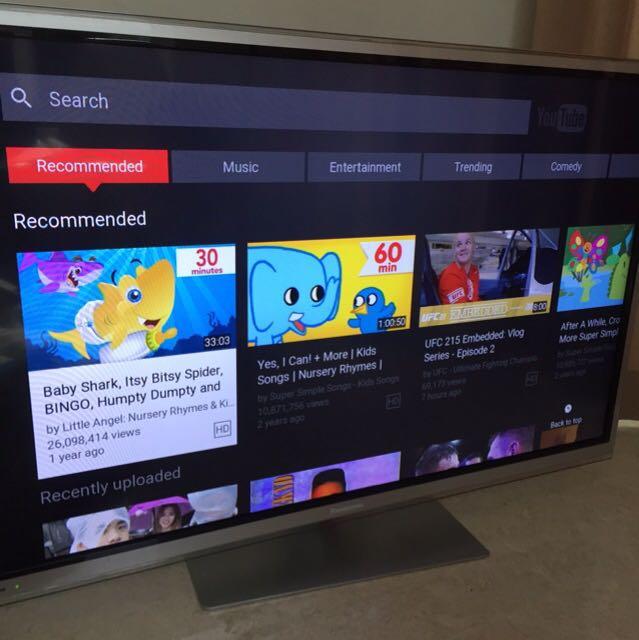 Panasonic Viera Smart 3D TV 42