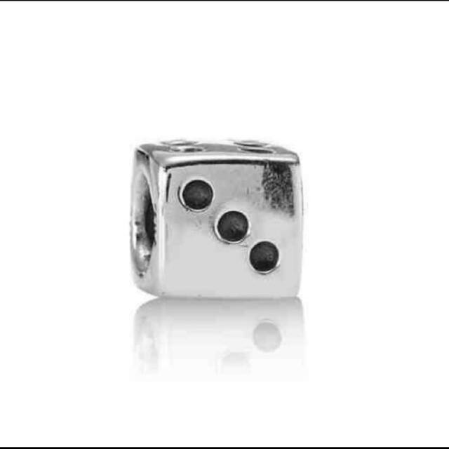 0d3a758ef Pandora dice charm, Luxury, Accessories on Carousell