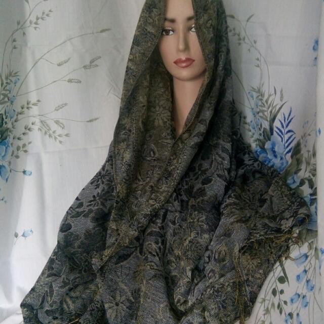 Pasmina Batik Tebal