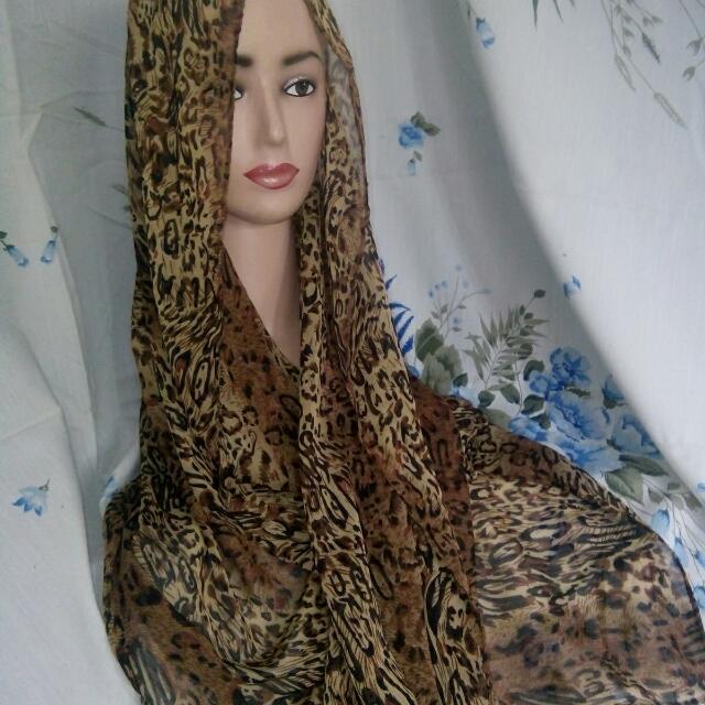 Pasmina Loreng Tiger