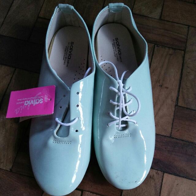 Pastel Preppy Flat Shoes