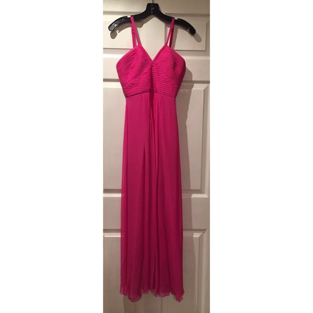 Pink BCBG Max Azria Formal Dress