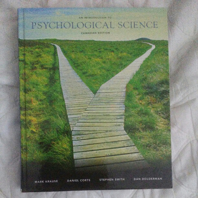 **PRICE DROP** (PSY100) An Introduction To Psychological Science: Canadian Edition
