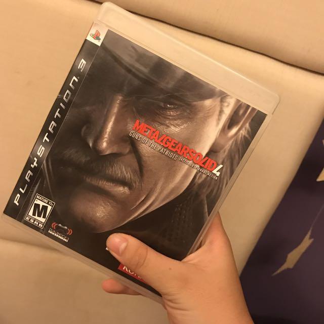 PS3 Metal Gear Solid 4