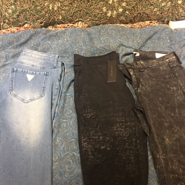 Rag and Bone and Guess Jeans