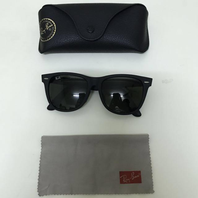 Ray Ban 經典2140太陽眼鏡/消光黑/100%證品