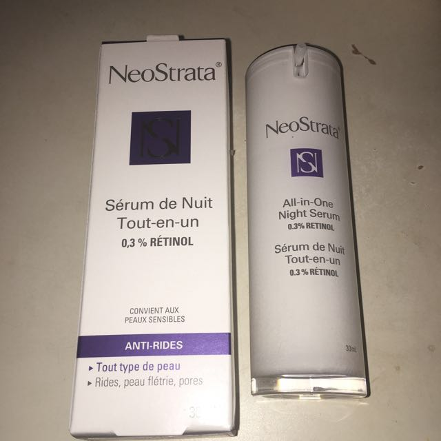 *reduced* Neostrata All In One Night Serum