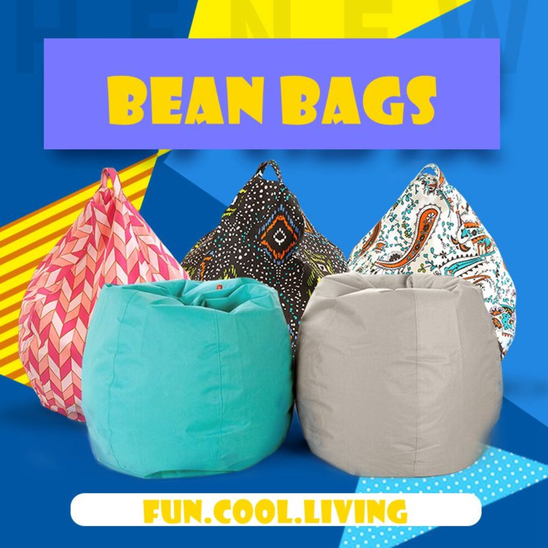 Removable Washable Lazy Bean Bag Chair Living Room Furniture Computer Chair Leisure Beanbag Seat Room Furniture Corner Sofa