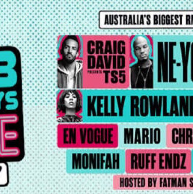 Rnb Fridays - sydney friday show x2 tickets