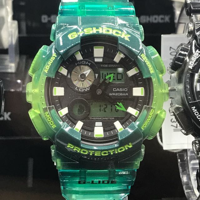 4c6cfe89a Sale Offer G-Shock Transparent Green Series $180 Casio Brand New In Box!  Collectors Item! Digital Analog Time Unisex! Limited Stock First Come First  Served!