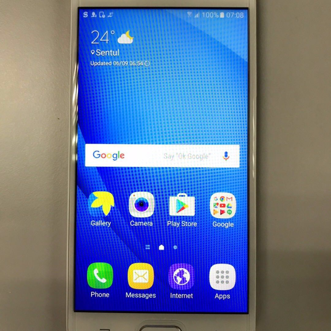 Samsung Galaxy J5 Prime White Gold 16gb Telefon Bimbit 16 Gb Photo
