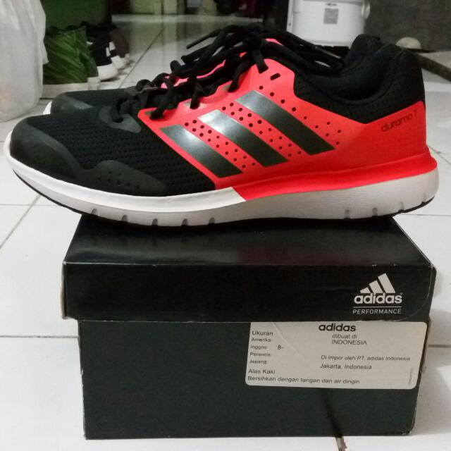Sepatu Running Adidas Duramo 7 m original S83232 size 42⅔ new