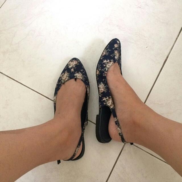 Sling Back Vintage Sandals