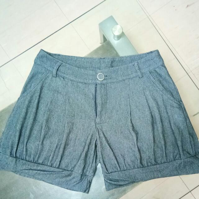 Soft Denim Shorts