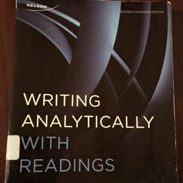 SSH 205 writing analytically